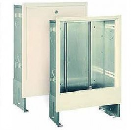 Шкаф монтажный коллекторный встраиваемый ШВ-4 (с регулируемыми размерами)