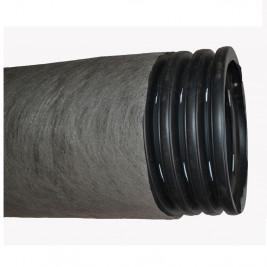 Труба ПНД дренажная одностенная с фильтром 110/95 (50 метров)