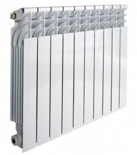 Алюминиевый секционный радиатор RADENA R500/80 (9 секций)