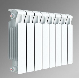 Биметаллический секционный радиатор Rifar Monolit 350 (6 секций)