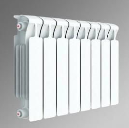 Биметаллический секционный радиатор Rifar Monolit 350 (8 секций)
