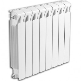 Биметаллический секционный радиатор Rifar Monolit 500 (8 секций)