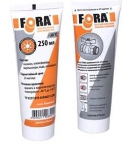Паста FORA для уплотнения реьбовых соединений (250гр)