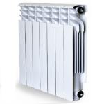 Алюминиевый секционный радиатор RADENA R500/100 (7 секций)