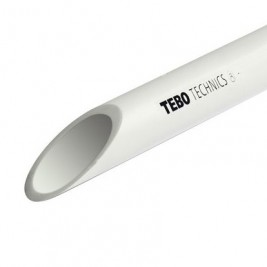 Труба полипропиленовая 20х1,9 PN 10 (SDR 11) TEBO