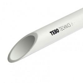 Труба полипропиленовая 25х2,3 PN 10 (SDR 11) TEBO